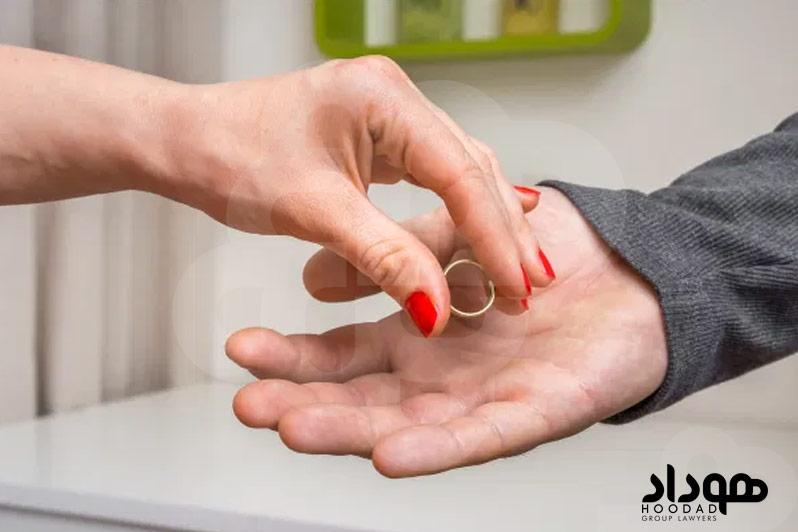 مشکلات دادن حق طلاق به زن